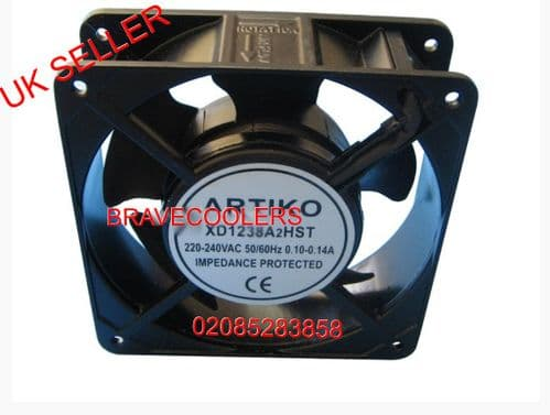 *Genuine Part* Axial Fan Motor With Terminal 120x120x38mm